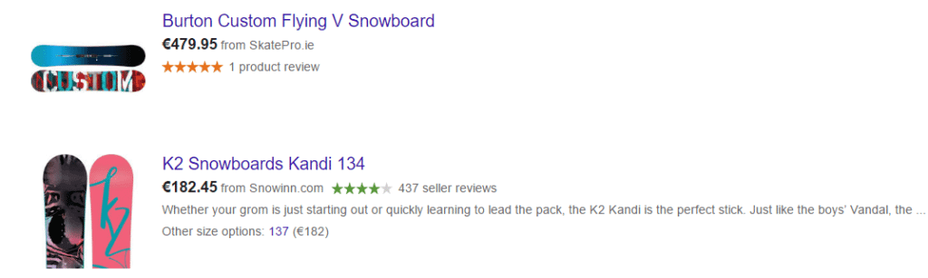 Google Shopping_Online Retailer Reviews